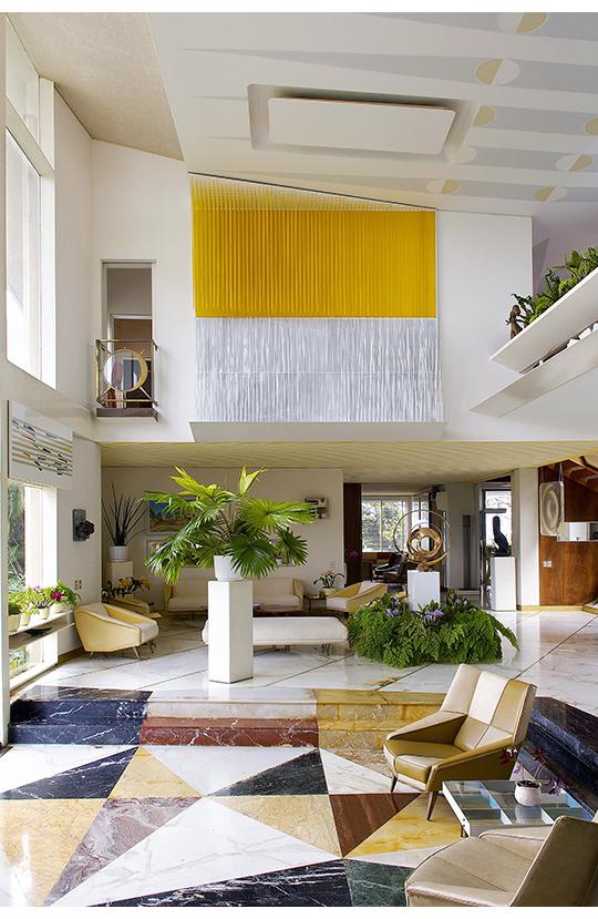 Living Room At Villa